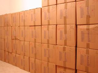 Beaucoup (trop) de cartons!