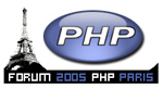PHP Forum Paris 2005 Logo