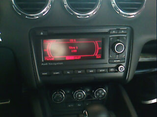 "iPod ""integration"" with the Audi TT"