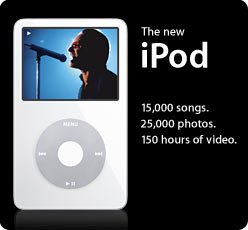 iPod video promo picture