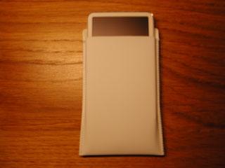 iPod video in sleeve