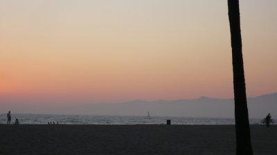 Derniers couchers de soleil sur Venice Beach