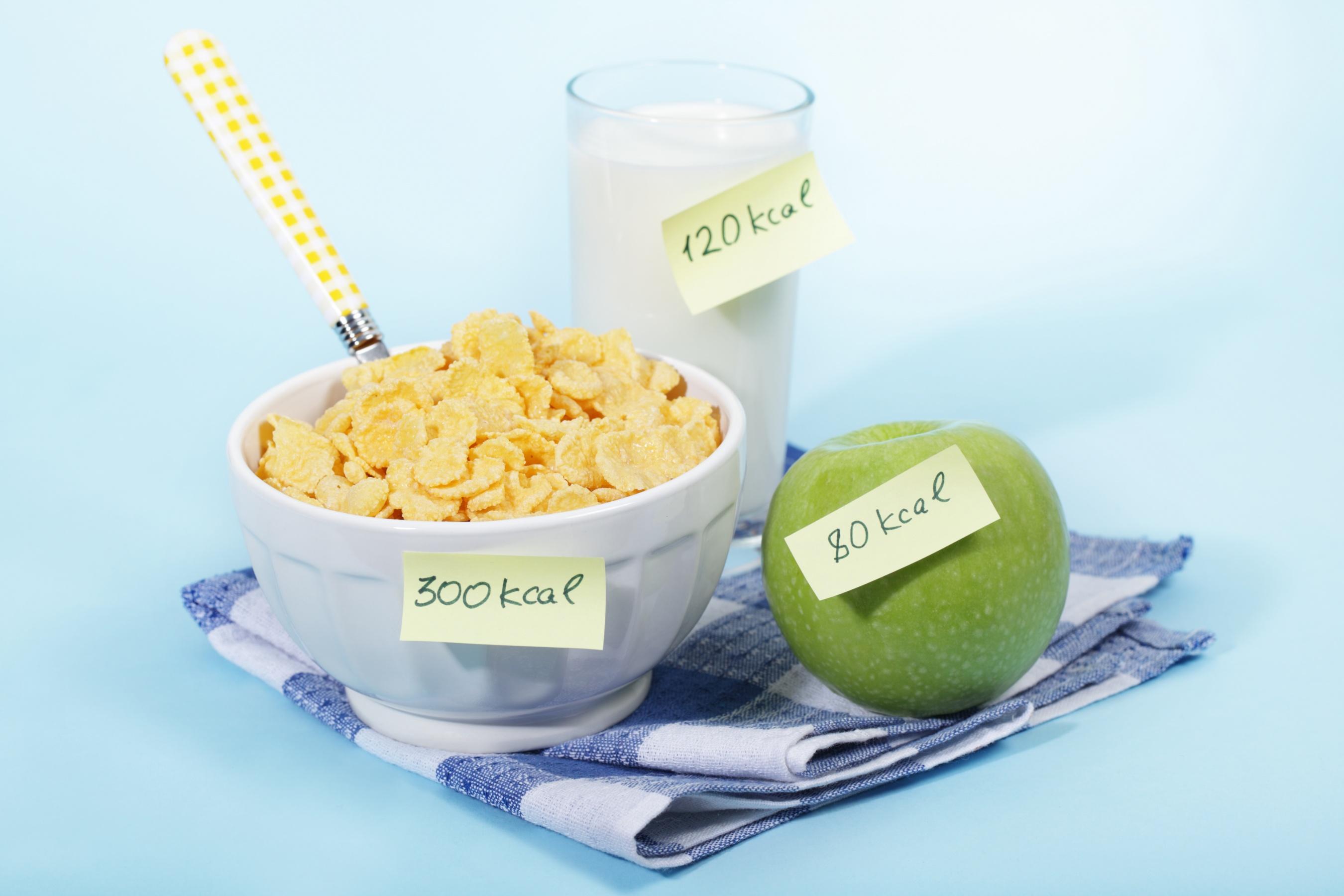калории продуктов для похудения