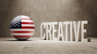 Le noyau de créativité est en Amérique...