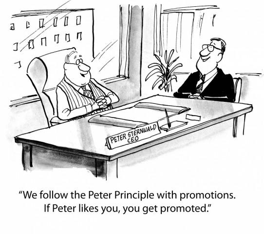 Du principe de Peter